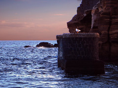 Quiete (Diego Zarulli) Tags: sunset sea italy relax tramonto mare calm napoli naples gaiola quiete