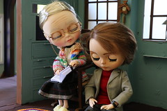 Conselhos da vov - 1 (MUSSE2009) Tags: toys doll grandmother blythe custom vinnie