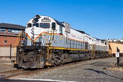Delaware Lackawanna M636 3643 (rmssch89) Tags: old 3 mountains diesel pennsylvania antique smoke iii class alco pocono shortline