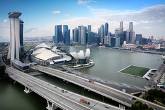 Marina bay (Patrick Foto ;)) Tags: park travel urban panorama detail building tourism beautiful beauty wheel vertical architecture modern marina circle giant observation asian fun amusement big high flyer construction scenery singapore asia view ride outdoor steel famous sightseeing scenic capsule landmark fair ferris scene tourist panoramic structure entertainment huge leisure recreation sg thrill attraction largest tallest