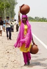 Water post in Jaipur 4 (Holofoto) Tags: india asia natur vann urne portretter mennesker vannpost indere portretterfraindia indiskvannpost