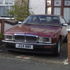 ℧ (uk_senator) Tags: burgundy 1991 jaguar xj6 xj40