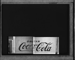 Drunk Coca-Cola • Forscher Proback diptych (blue439) Tags: polaroid nikon diptych coke instant fujifilm cocacola fm3a contactprint forscher fp3000b proback
