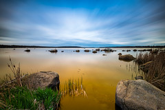 On Golden Pond (mikeyatswb) Tags: longexposure fallriver hss leefilters goldnbluepolarizer watuppapond singhrayfilters bigstopper sliderssunday