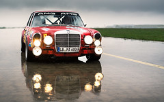Red Pig. (Alex Penfold) Tags: red cars alex car germany mercedes benz pig super autos 300 sel supercar amg supercars 68 merc penfold 2016 300sel