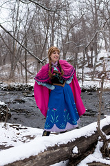 Anna at the Falls -4 (YGKphoto) Tags: park winter anna snow cold minnesota frozen costume cosplay outdoor minneapolis disney minnehaha