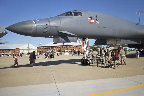 2016 Air power over Hampton Roads Langley Air Show Virginia   B-1 Lancer Bomber Master of Disaster 79