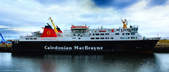 Scotland Greenock the ship repair dock the large car ferry Isle of Lewis 14 April 2016 by Anne MacKay (Anne MacKay images of interest & wonder) Tags: car by ferry anne scotland greenock dock ship 14 picture lewis repair april mackay isle caledonian 2016 macbrayne xs1