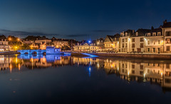 Saint-Goustan reflections (aurlien.leroch) Tags: longexposure france reflection port nikon europe bretagne reflet auray saintgoustan d7100