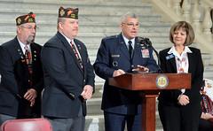 Loyalty Day 09_DSC0886 (padmva) Tags: freedom democracy pennsylvania vet flag pa veteran harrisburg veterans loyalty vfw vets paguard