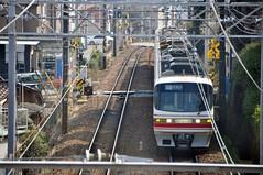 nagoya14963b (tanayan) Tags: japan train nikon railway nagoya  series express limited  aichi rapid j1 meitetsu  1230 d90