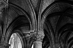 Lady Labyrinth (anniesbox) Tags: blackandwhite black monochrome stone lights mono gothic cathdrale reims middleages annevans