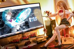 Battle of Lv 5 () Tags: toy japanese nikon doll desk dream screen figure bjd dd dollfie volks animate misaki mikoto misaka heero shokuhou