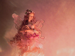 ...fairy time... (carbumba) Tags: pink stilllife statue still fairy figurine