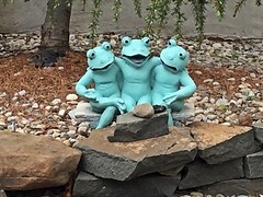 Budweiser Frogs Drunk Again (pmarella) Tags: jerseycity pmarella riverviewpkproductions budweiserfrogs