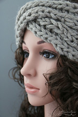 knitted twisted headband (Admirartem) Tags: alpaca easy knitted twisted headband earwarmer