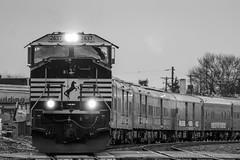 One Last Ride (marko138) Tags: railroad train pennsylvania 18thstreet locomotive railfan norfolksouthern camphill mainline emd 047 circustrain sd70m railroadphotography ringlingbrothersandbarnumandbailey lurganbranch ns2637 lurb