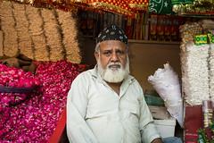 The chadar seller (SharmaPunit) Tags: new india religious delhi muslim potrait dargah nizamuddin nizamuddindargah