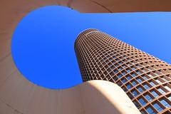 le crayon (LIL Scarab) Tags: city france tower canon eos spring tour lyon bleu crayon ff ville auditorium urbain archi urbanisme 6d 2470mm partdieu llens f28lusm canonfrance igerslyon monlyon