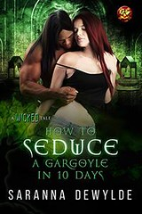 How to Seduce a Gargoyle in 10 Days (CoverReveals) Tags: contemporary romance paranormal