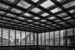 Bahnhof Potsdamer Platz, Berlin (Gtz Gringmuth-Dallmer Photography) Tags: blackandwhite berlin architecture potsdamerplatz architektur schwarzweis