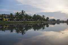 Reflection (suesuekhoo) Tags: trees sky clouds reflections landscape photography vietnam rivers flick photooftheday hoianancienttown flickrunitedaward suesuekhoo