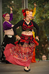 Daughters of Louhi (sjarvinen) Tags: people female dance women entertainment bellydance ats entertainers americantribalstyle
