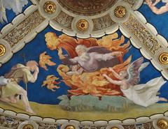 Vaticano (Città del) - Musei Vaticani - Chambres de Raphaël - Chambre d'Heliodore (Fontaines de Rome) Tags: roma città vaticano musei vaticani chambres raphaël chambre héliodore buisson ardent