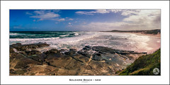 Soldiers Beach (John_Armytage) Tags: panorama pano australia panoramic nsw centralcoast norahhead soldiersbeach johnarmytage