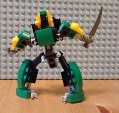 """Alfar"" Prototype Build Journal (phayze81) Tags: lego wip scifi sciencefiction mecha mech moc mfz mf0 mobileframezero"