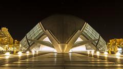 The Bug / EL bicho (Hornisterol) Tags: valencia arquitectura ciudad enero estrellas nocturna artes ciencias 2016 futurista manueljrrega