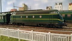 Riddersbrugge rijdagen: HLD 6299 (Ignace Vanbiervliet) Tags: ho treinen nmbs modelspoor