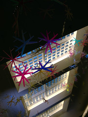 snowflakes (Ian Muttoo) Tags: snowflake toronto ontario canada snowflakes frost gimp bceplace snowfall ufraw allenlambertgalleria brookfieldplace studiofminus snowfallfrost dsc52111edit