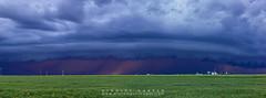 Baker Shelf Cloud (Black Mesa Images) Tags: lighting storm black oklahoma texas images stanley chase hooker harper thunder mesa panhandle guymon supercell