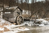 Hyde's Mill (Radha121) Tags: trees winter mill nature water wisconsin creek landscape hills oldmill wi swwisconsin ruralwisconsin tamron18250mm canonxsi tiffen6graduatedndfilter hydesmill1850