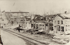 Fire Wreckage, Business Block, 2