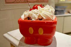 Mickey Sink Sundae (lsoto811) Tags: ice magic cream kingdom disney mickey sweets wdw