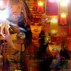Barbie Girls' Night Out (virtually_supine) Tags: texture collage photomanipulation shoes bright creative montage layers abstraction grainy impressionistic discoballs digitalartwork barbiedolls vividcolours colouredlights photoshopelements9 artisticmanipulationgroupmixmasterchallenge4 chefsuzanne