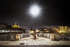 Lampadaire - Metz (Jimmy__T) Tags: street old city urban france canon town europe des porte 1018 monuments lorraine ville metz cathedrale moselle allemands