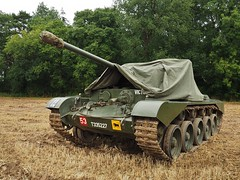 """Comet Tank """"VICTOR"""" (Ben Matthews1992) Tags: world park old uk england classic vintage army war shropshire tank britain military rally great transport machine historic steam victor shrewsbury ww2 second vehicle british preserved comet worldwar2 preservation onslow a34 2015 cosses t335227"""