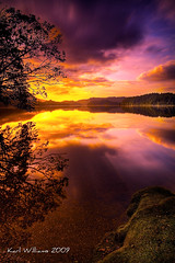 New Day (pusur64) Tags: sun water gallery printed trossachs sva lochard 2canvas