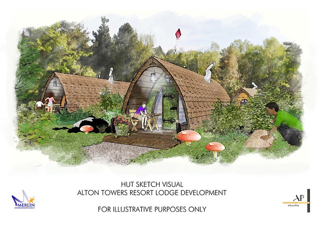 Hut Accommodation Concept