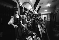 dresscodes of the world, unite (troutfactory) Tags: blackandwhite bw film monochrome strange japan weird mannequins wideangle creepy odd  himeji analogue 15mmheliar  voigtlanderbessal sunpark   taiyokoen theycometolifeatnight kodak400txshotat800