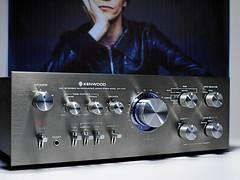 Kenwood KA 7150 Stereo Amplifier (oldsansui) Tags: old music classic radio vintage design amp retro stereo sound classics 1970 amplifier seventies audio hifi 1976 davidbowie kenwood highfidelity gunmetal madeinjapan 70erjahre soundandvison