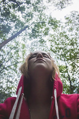 My First Camping Trip (amyjutras) Tags: camping trees woman selfportrait self woods fineart twentyeight
