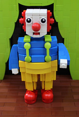 Clown! (Michael the juggler) Tags: nose lego circus stage clown suspenders abs npu