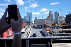 tourists! (mikefranklin) Tags: newyorkcity usa newyork fuji september fujinon highline 2015 a:a=camera a:a=countries a:a=years xf18mmf2