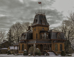 Private Home in St. Mary's, Ontario (c.macp) Tags: winter ontario building brick home st architecture 35mm nikon grand marys historical mansion nikkor 18g d7100