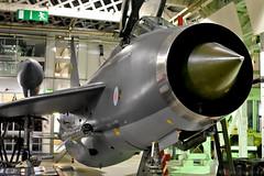 English Electric Lightning (Bri_J) Tags: uk london museum nikon fighter jet lightning raf airmuseum coldwar interceptor hendon englishelectriclightning aviationmuseum englishelectric rafmuseum d7200