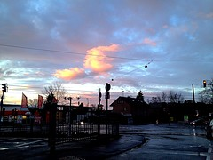 (RenateEurope) Tags: sunset sky clouds germany bonn nrw beuel 2016 iphoneography renateeurope pareidoliacloud